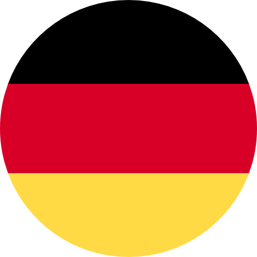 Translation to German with German flag