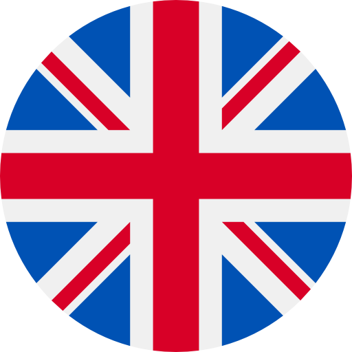 Translation to english with UK flag