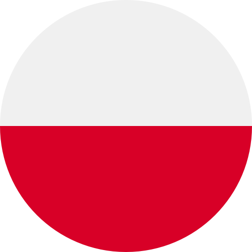 Translation to polish with polish flag