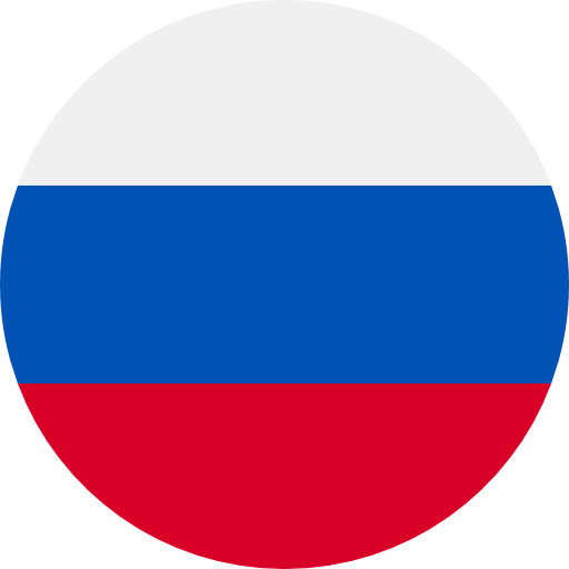 Translation to russian with russian flag