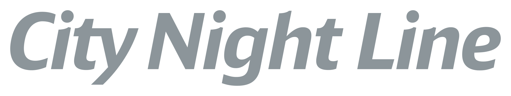CityNightLine railway logo