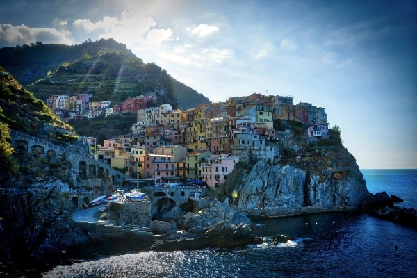 Cinque Terre, Italy Romantic Train Journeys
