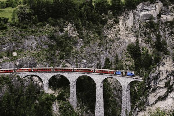 Landwasser viaducto, Suiza