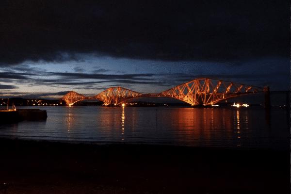 puente de Forth, Escocia