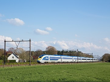 train London to Amsterdam with eurostar