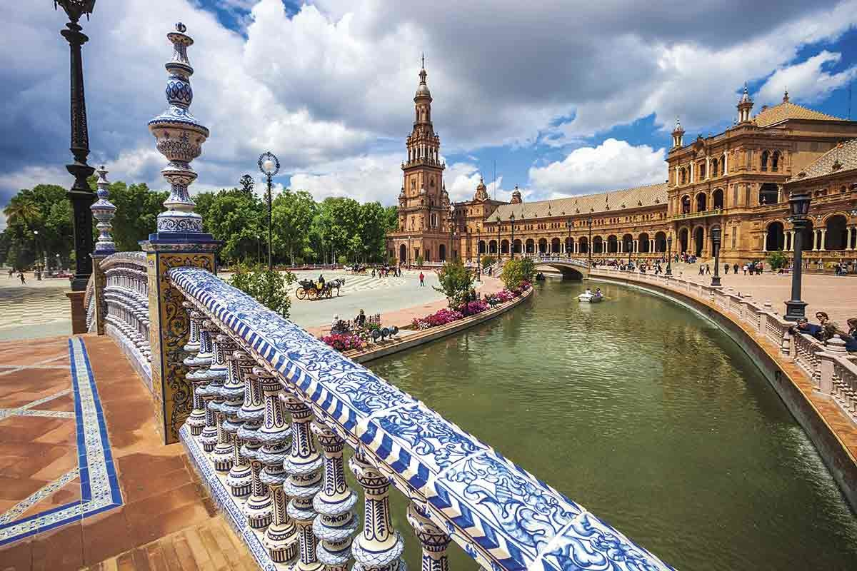 Seville is among European cities best visited by train