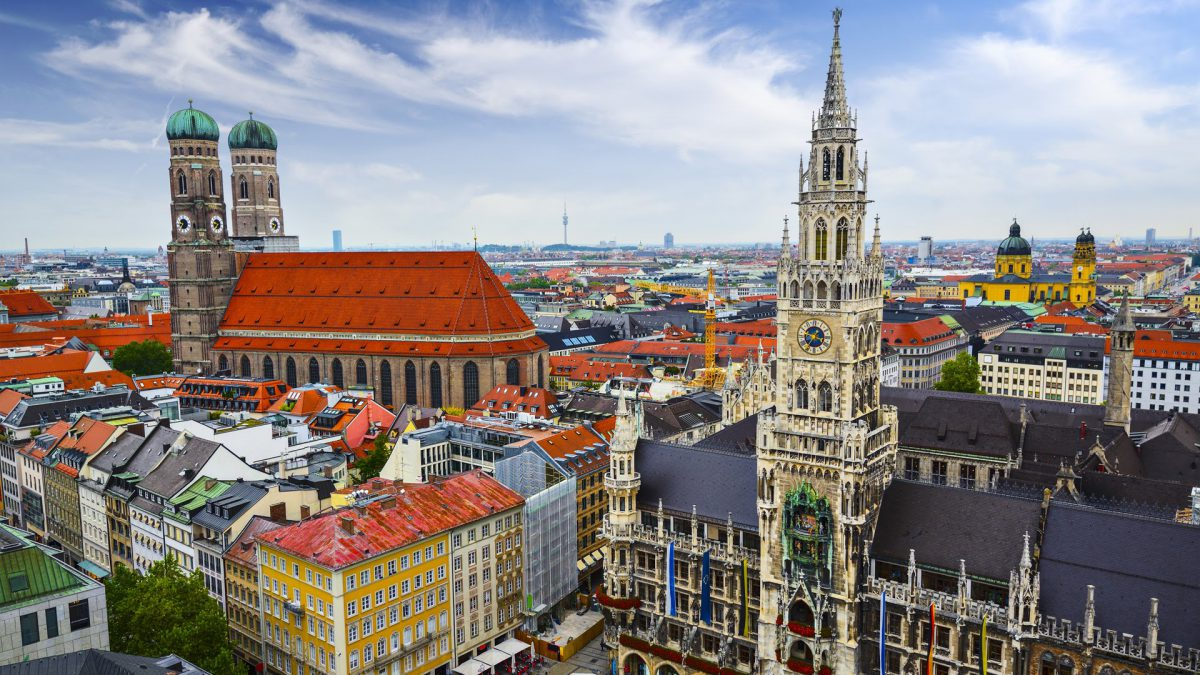 munich is among European cities best visited by train