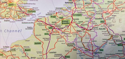 A Europe Route Planner Helps You Navigate Through Europe