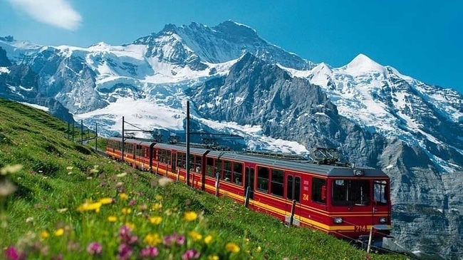 Swiss Trains