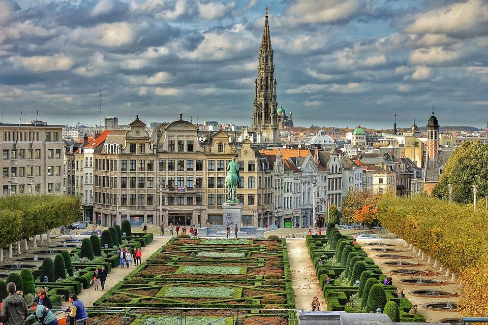 Belgium gardens