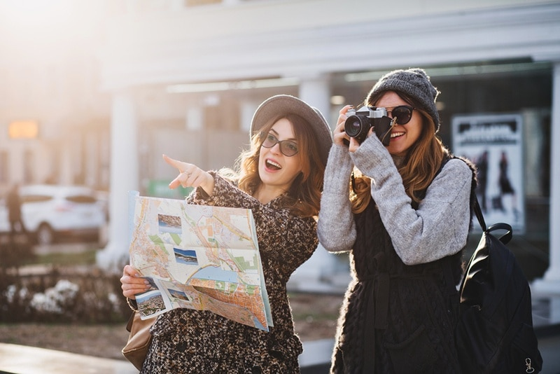 Train Girls taking photos - Top 10 Easy Tips for Train Riding Smart