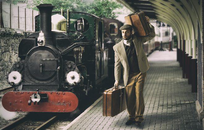 први воз путовање икада направљен у Италији