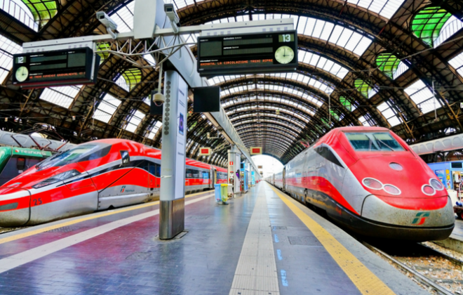 Trenitalia nyaeta antara maranéhanana Kareta di Éropa