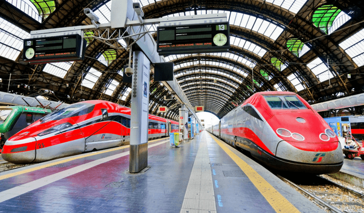Trenitalia is among those Trains in Europe