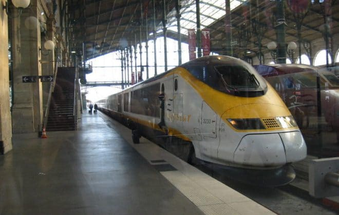 eurostar london ki tereina paris