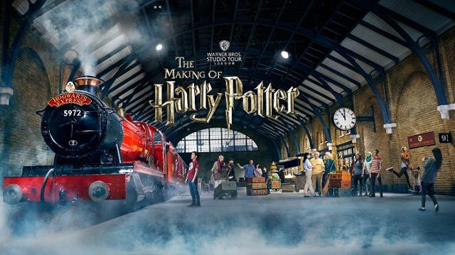 train harry potter fait partie d'expériences en Europe en train