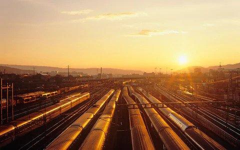 најдобар воз вози во Европа секогаш ќе започне на железничката станица