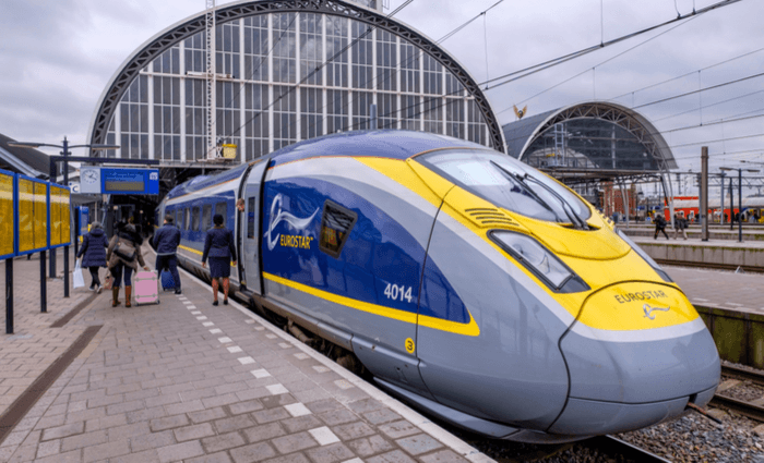 Eat inside a tunnel with Eurostar Railways Serving Good Food