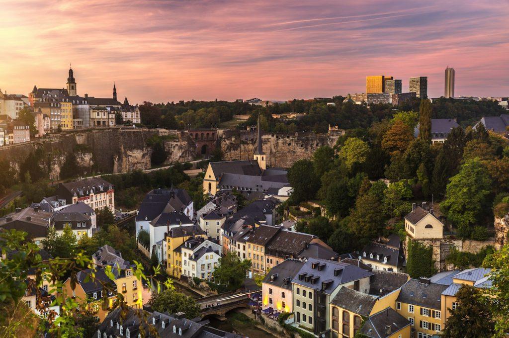 Qyteti Luxembourg gems fshehur në Evropë
