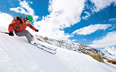 Pi bon resorts ski pou vizit By tren