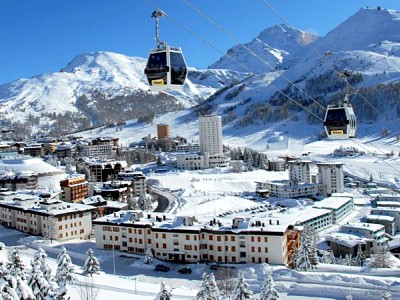 Italia Ski Resorts ya kutembelea By Train