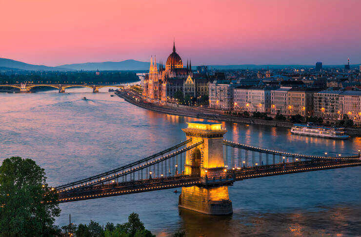 budapest is one of Best Cities to Spend Christmas