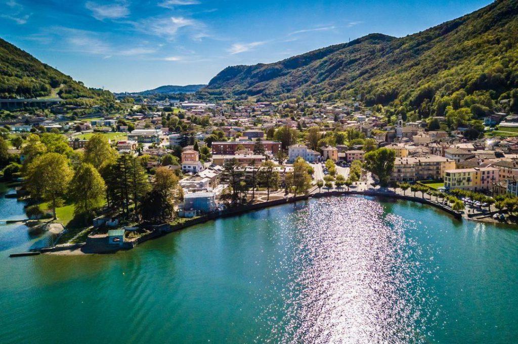 Лугано Швейцария Ризашылық үшін бару үшін үздік қалалардың бірі болып табылады