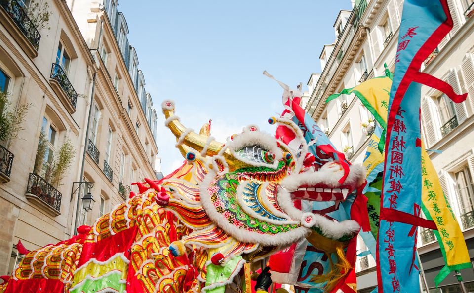 Celebrate Chinese New Year in Europe, paris