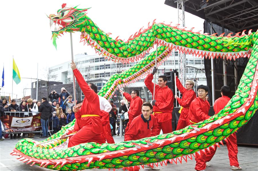 Ipagdiwang ang Chinese New Year sa Europa, The Hague