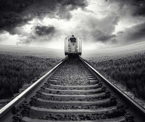 Wiedząc siderodromophobia lub strach przed pociągami