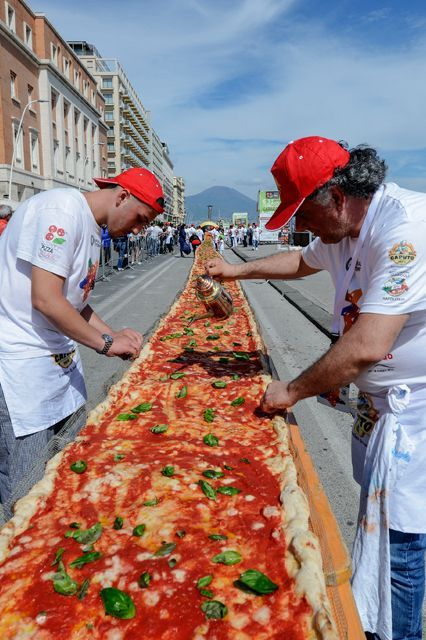 large pizza italy is part of Europe's Best Food Spots