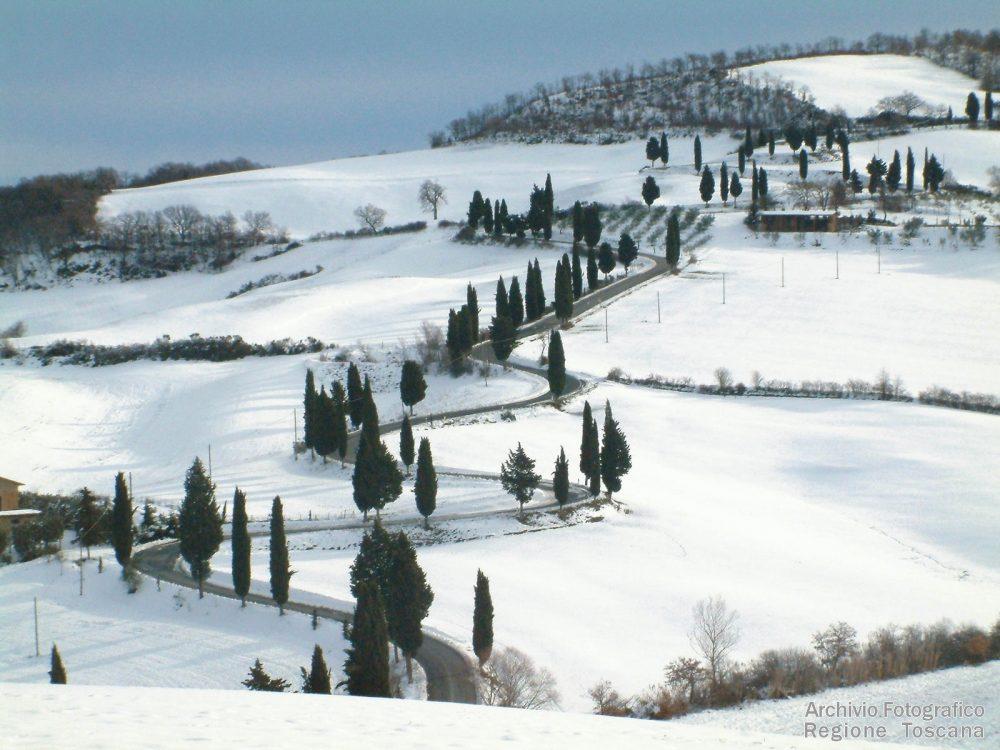 tuscany,italy, Europe in February