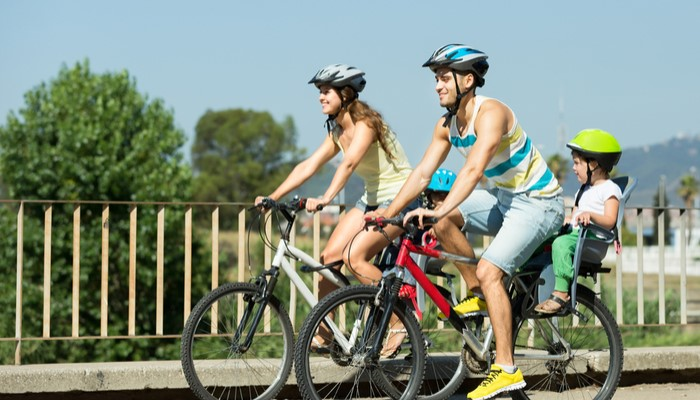 Take a bike in Berlin in the summer