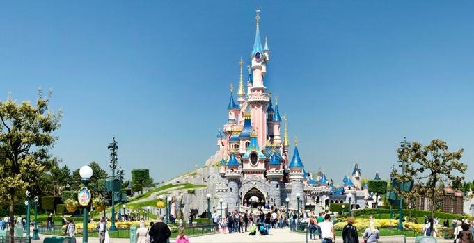 Disneyland vakansie beeld funksie Parys in