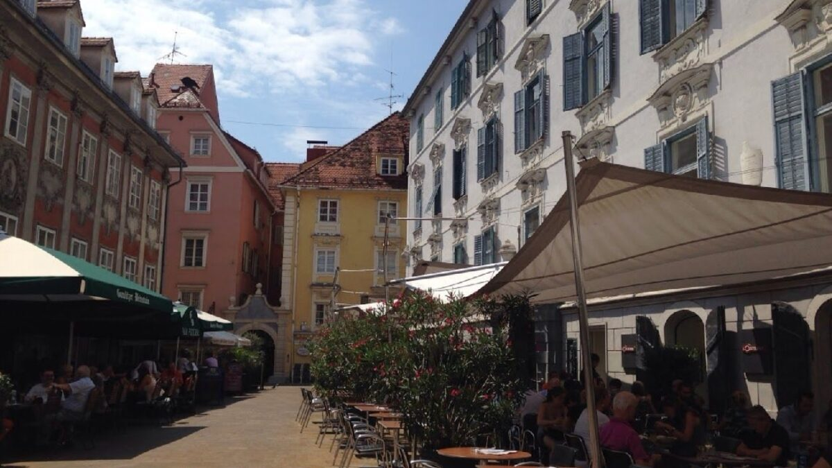 graz österrike Food Street
