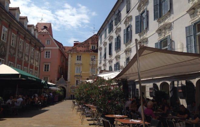 Граз Аустрија улица храна
