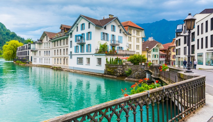 Best Extreme Attractions in Europe in Interlaken Switzerland