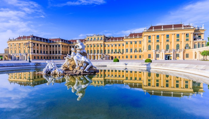 Beautiful Palaces in Europe - Schloss Schonbrunn, Austria