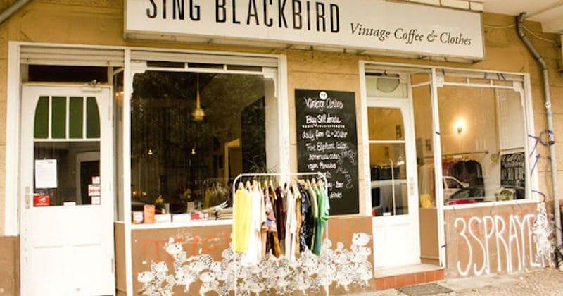 Best Vintage store Sing Blackbird berlin