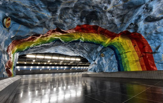 Underground Art in Subway jaamad blogipostitust