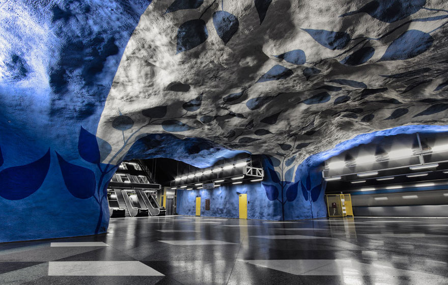 underground art in sweden