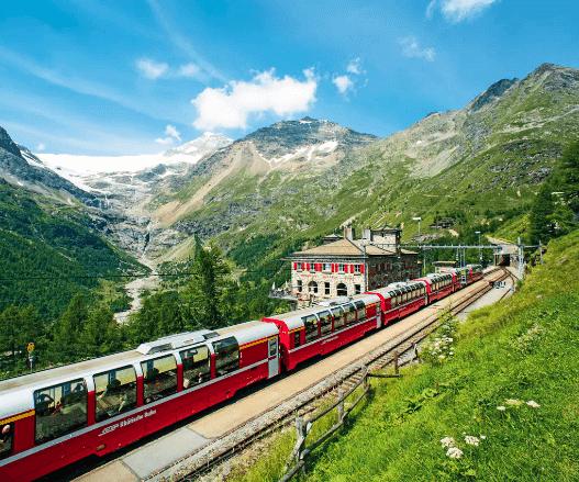 Лучшие европейские маршруты поездов