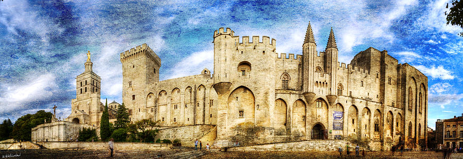 Popes' Palace of Avignon, Provence, France