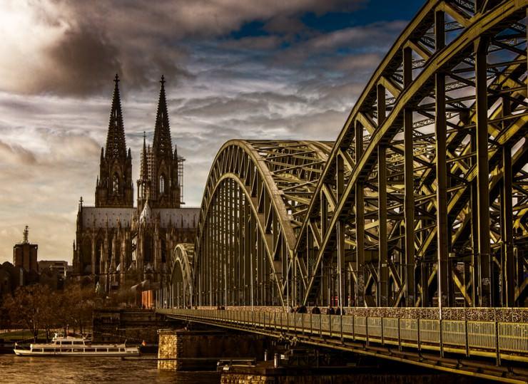 The West Rhine Railway, Germany
