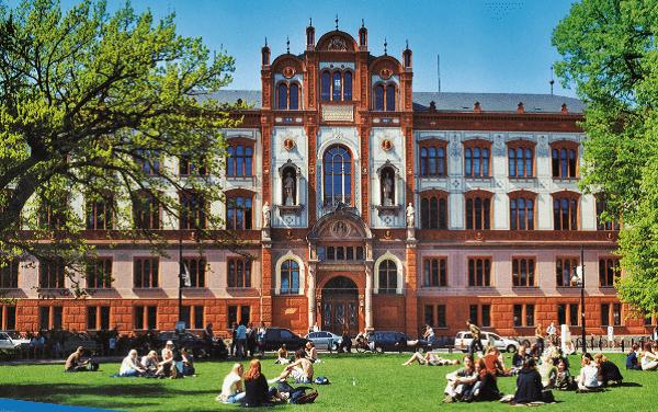 Rostock University Front