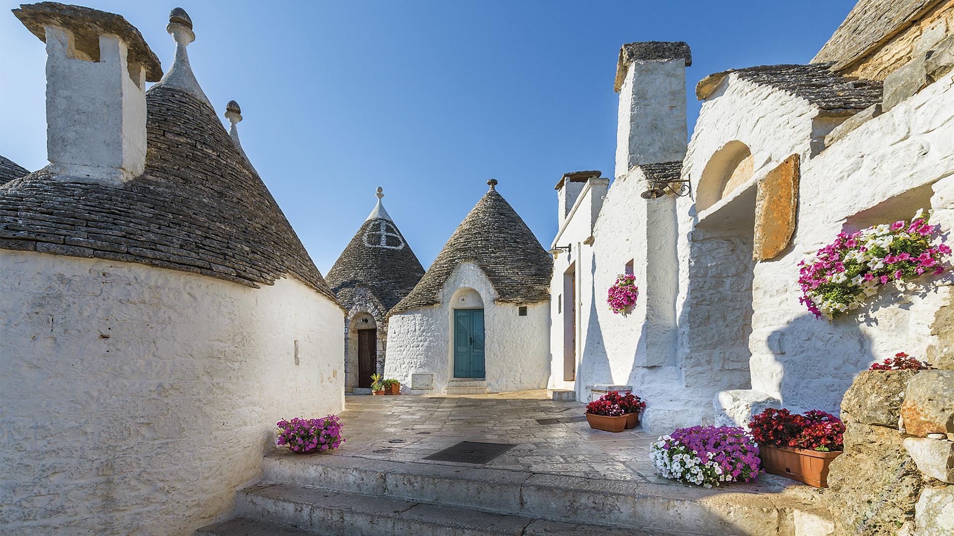 Alberobello houses style