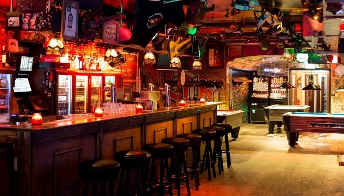 The Waterhole Live music bar in Amsterdam The Netherlands