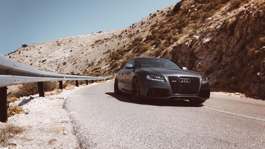summer mountain driving