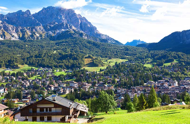 Most beautiful forests in Europe - Belluno Dolomites, Italy