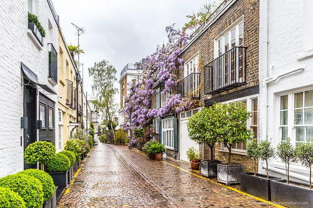 Kynance Mews, London, England on Most Beautiful Streets In Europe